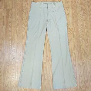 Laundry stitch detail trouser pants sz 2
